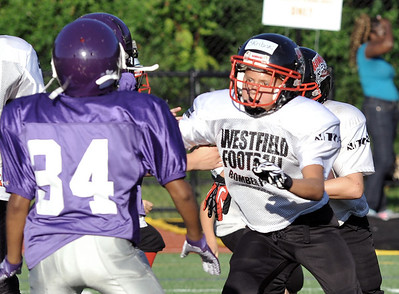 8/18/2012 Pee Wee, Junior, JV, Senior Football in E. Longmeadow Jamboree