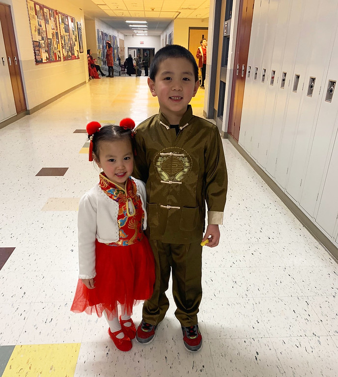 . Evelyn and Kyle Shen of Westford