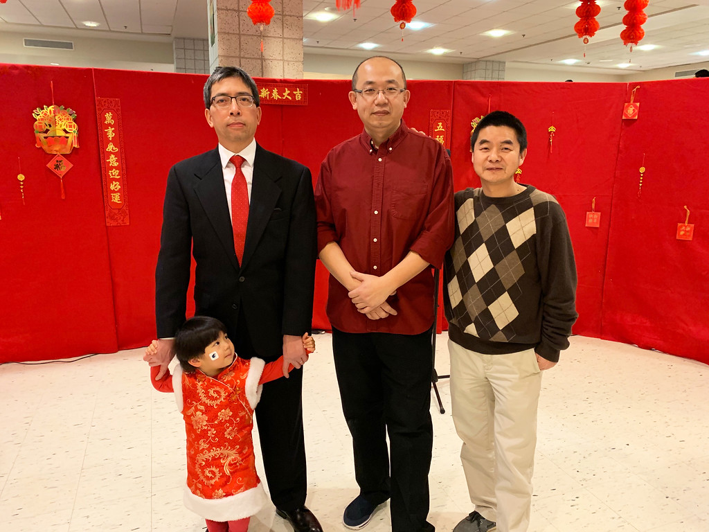 . Representatives of the Chelmsford Chinese Language School