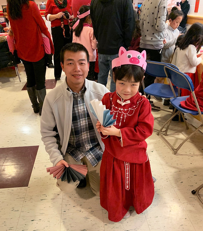 . Zihan and Emma Zhang of Chelmsford