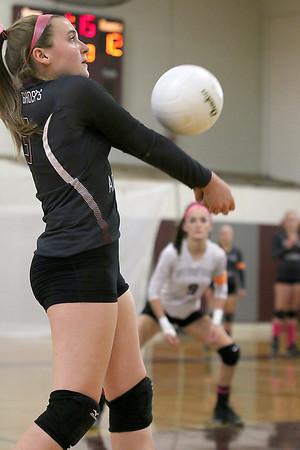 Westford Academy volleyball 100716