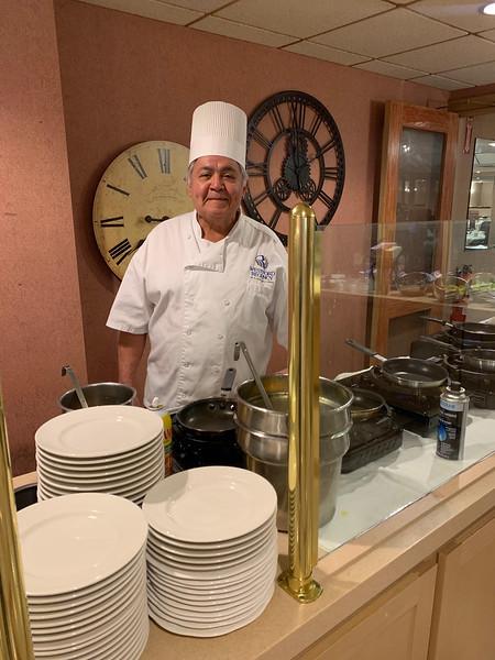 Talented chef Ricardo Luna of Ayer