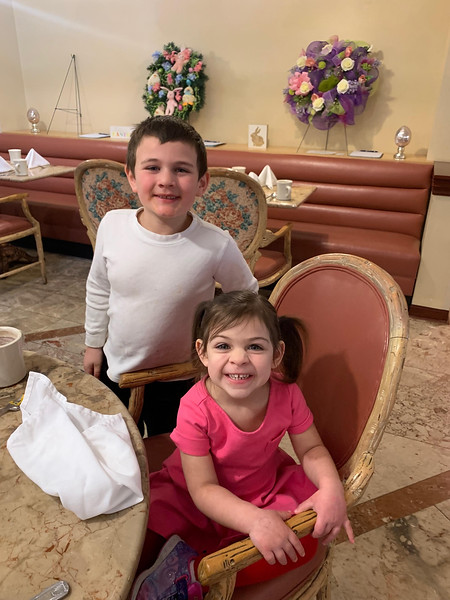 Jackson and Alexa Sutton of Chelmsford