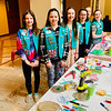 The crafty Girl Scouts of Westford Troop 66305