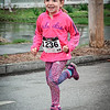Brynn Votano, 5, from Westford participates in the Family Fun Run in Westford. SUN/Caley McGuane