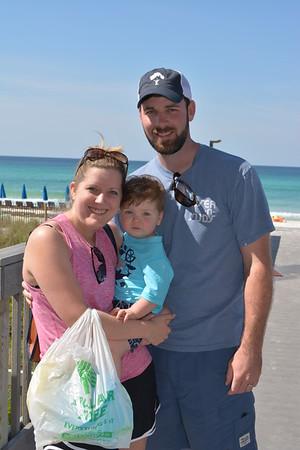 Westin's 1st Beach Experience