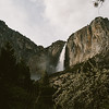 Yosemite mountains and water fall