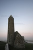 Clonmacnoise holy site on the bank of the River Shannon in co. Westmeath, Ireland