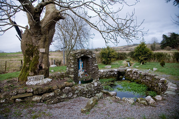 St. Brigid's Holy Well, in Killare, Co. Westmeath [near the Hill of Uisneach].