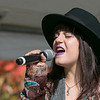 The Westminster Cracker Festival was held on Saturday, Oct. 19, 2019 in Westminster. Letticia Freitas belts out some songs with the band Tribe as they entertain the crowds during the festival. SENTINEL & ENTERPRISE/JOHN LOVE