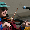 The Westminster Cracker Festival was held on Saturday, Oct. 19, 2019 in Westminster. Dan Villani plays the violin with the band Tribe as they entertain the crowds during the festival. SENTINEL & ENTERPRISE/JOHN LOVE