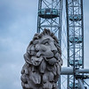 Lion and London Eye