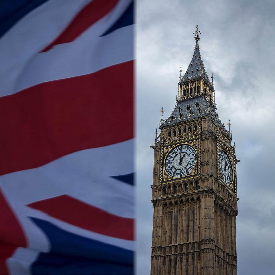 Union Flag & Big Ben