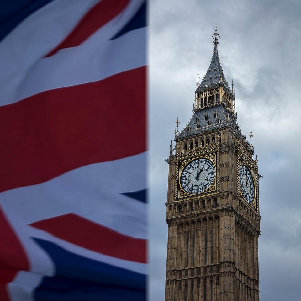 Union Flag & Big Ben