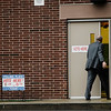 Voters enter J.R. Briggs Elementary School in Ashburnham during the annual town elections on Tuesday, April 25, 2017. SENTINEL & ENTERPRISE / Ashley Green