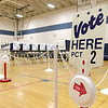 Election was held in Westminster on Tuesday at the Westminster Elementary School. SENTINEL & ENTERPRRISE/JOHN LOVE