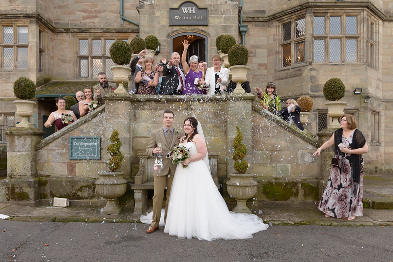 Weston Hall Wedding Photographer - Adrian Chell Wedding Photography