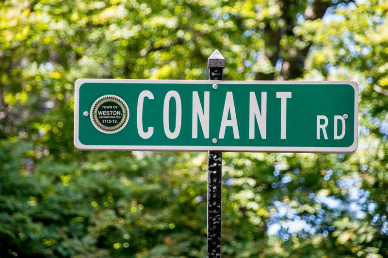 Conant Road Sign