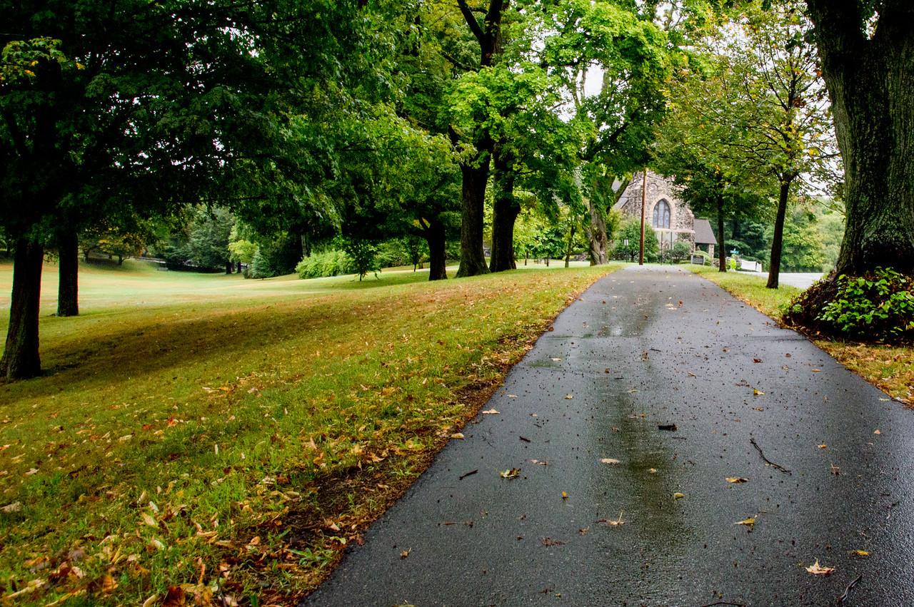 Weston Town Green Path