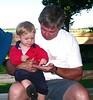 Matthias and Grandpa Doug