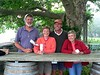 Peter, Kathy, Rich, Susie at Westport Rivers Winery