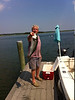 "Bluefish, 25-26"", off Cuttyhunk aboard Fish Stretcher, caught 7/16/2013"