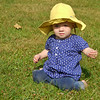 Elizabeth in her yellow hat.