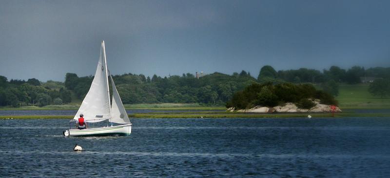 Jon sails