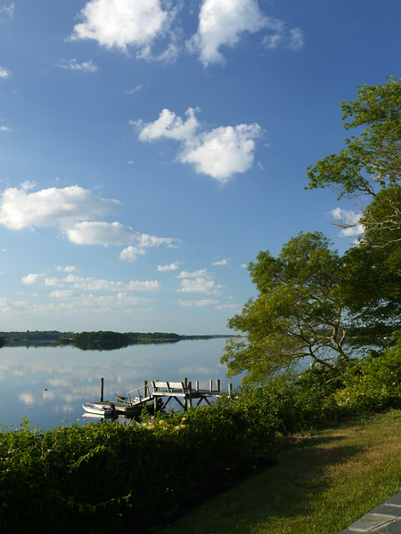 View from our patio on Cadman's Neck.