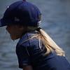 Elizabeth in Texas Rangers hat
