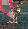 Caleb sailing