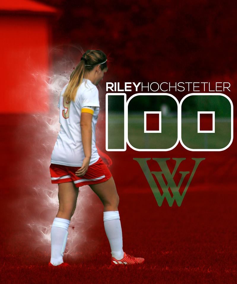Riley Hochstetler - 100 Career Goals