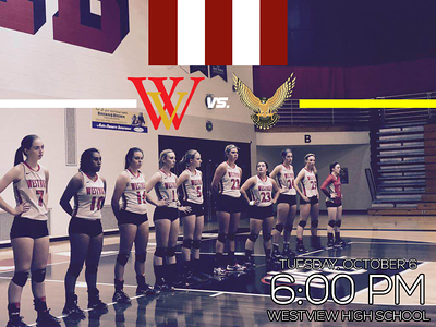 WV Volleyball Gameday Graphics