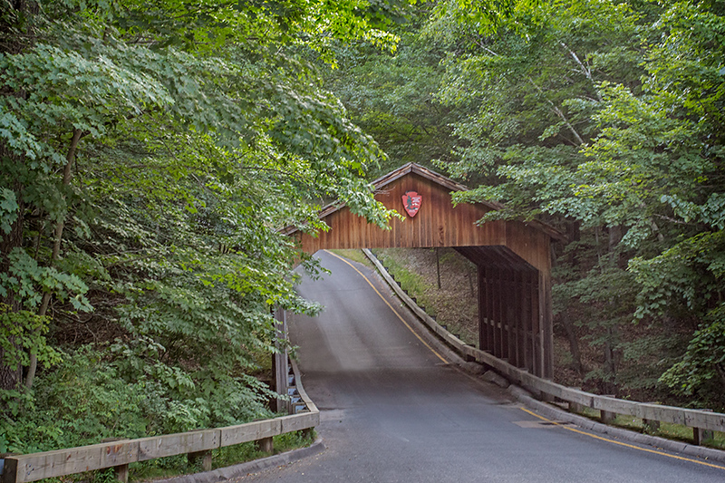 Covered Bridge at Sleeping Bear Dunes