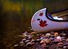 Canadian Canoe on Pyramid Lake