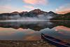 Dawn at Pyramid Lake