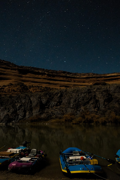 Nighttime over the river