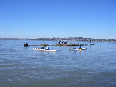 Exploring the sunken schooner off Shipwreck Beach