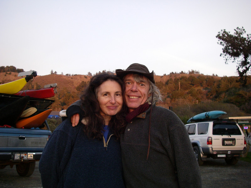 Jim and Kathy ... Jim' looking exuberant!