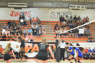 Westwood- Elkhart Volleyball 9-23-16
