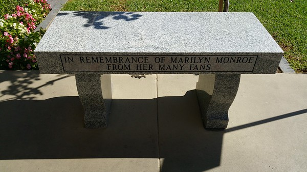 This memorial was from some of her fans
