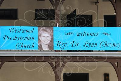 Reverand Dr. Lynn Cheyney's Installation