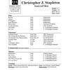 Stapleton, Christopher J.