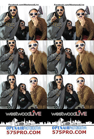 Westwood Live November Photo Booth Strips