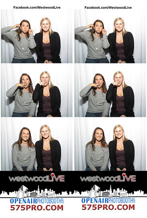 Westwood Live Photo Booth Strips