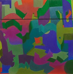 """""""Crossroads"""" (oil on canvas) by Jordan Kornreich"""