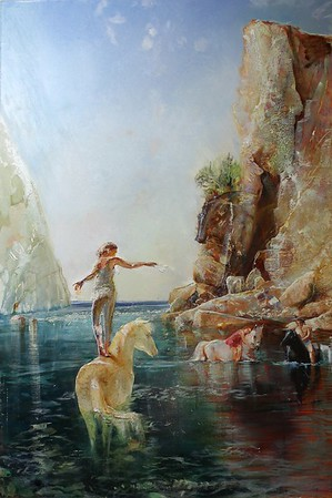 """Paradice"" (oil on canvas) by Evgenia Severskaya"
