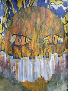 """Vow of Silence"" (gouache) by Eugene Fomenko"
