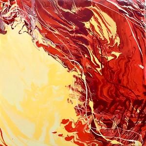 """Overwhelmed"" (acrylic) by Shivani Sara Sarjan"