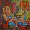 """The dreams about Milan"" (acrylic on canvas) by Yana Vasileva"
